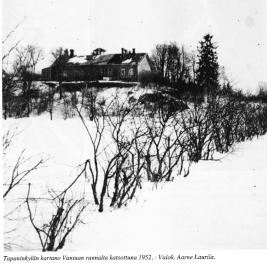 Tapaninkylän kartano 1952. Kuvaaja: Aarne Laurila.